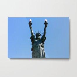 Liberty+ Metal Print