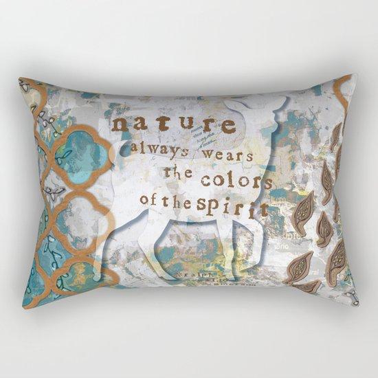 Nature Spirit Rectangular Pillow