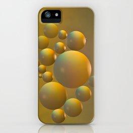 Distant moon. iPhone Case
