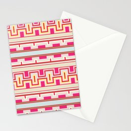 Aztec tribal style pattern Stationery Cards