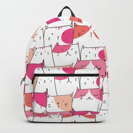 Happy Cats Patterns  Backpack