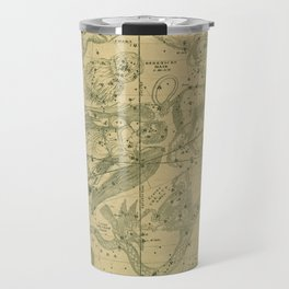 Atlas, Designed to Illustrate the Geography of the Heavens, plate IV (1850) Travel Mug