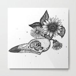 Wildbird Anatomy Metal Print