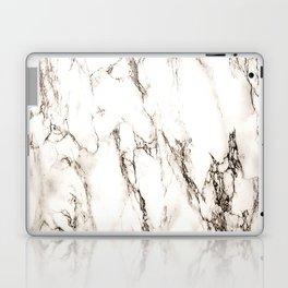 Brown Veined Marble Laptop & iPad Skin