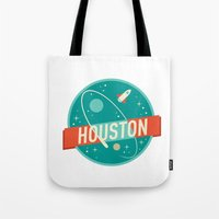 houston Tote Bags featuring HOUSTON by Fedi