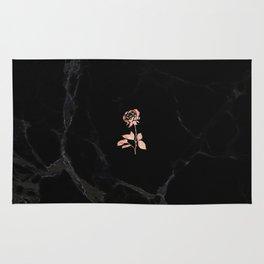 Forever Petal (Black Rose) Rug