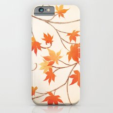 Autumn Leaves are like Flowers iPhone 6s Slim Case