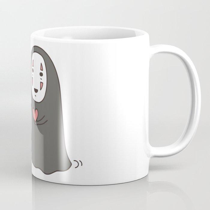 No-Face in Love of SootBall Coffee Mug