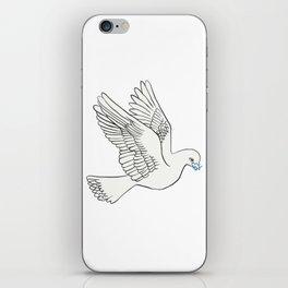 Whatsapp's Carrier Pigeon iPhone Skin