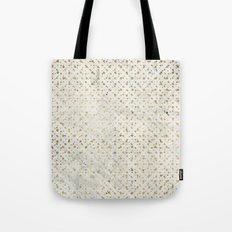 gOld grid Tote Bag