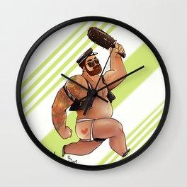 polibear Wall Clock