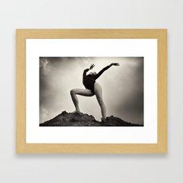 Dance Healing Framed Art Print