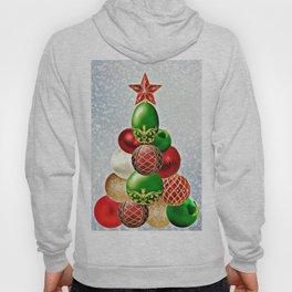 Christmas Bauble Tree Hoody