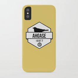 AHGASE iPhone Case