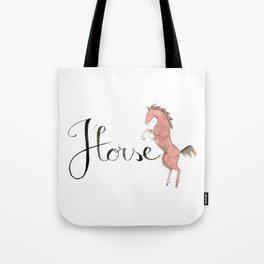 H LIKE HORSE Tote Bag