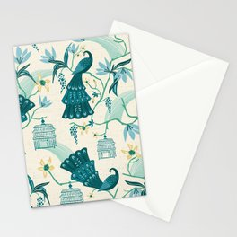Aviary - Cream Stationery Cards