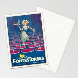 "vintage poster ""Limonade Fontestorbes"" Stationery Cards"