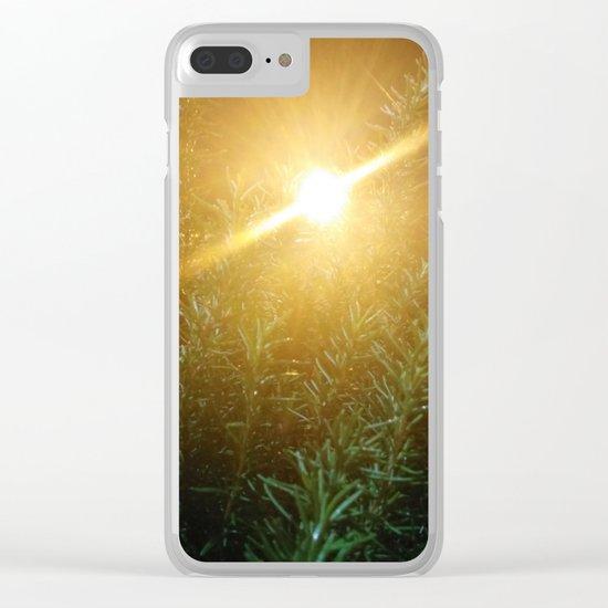 Rosemary Sunrise Clear iPhone Case