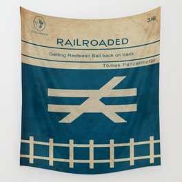 Railroaded Wall Tapestry