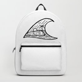Wave in a Wave Backpack