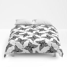 Exotic butterflies Comforters