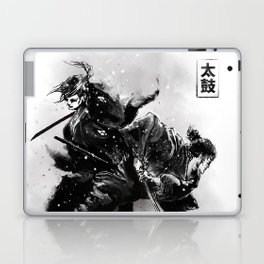 Taiko - Dance of the swords Laptop & iPad Skin