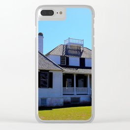 Kingsley Plantation House Clear iPhone Case