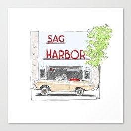 Sag Harbor Movie Theater Canvas Print