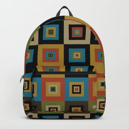 Retro Square Backpack