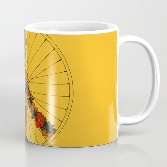 Peace & Bike (Colors) Mug