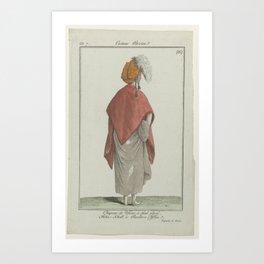 Journal des Dames et des Modes, Costume Parisien, 19 janvier 1799, An 7 (85) Art Print