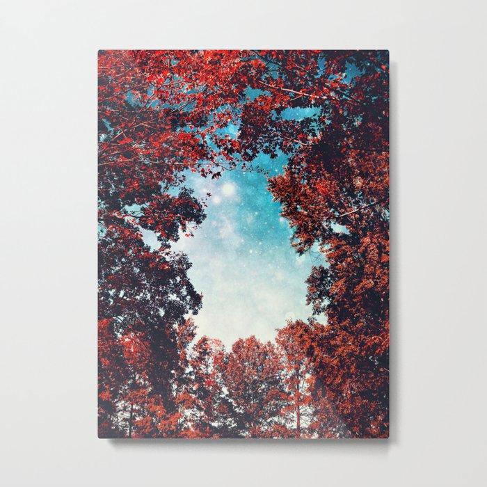 October Sky Metal Print