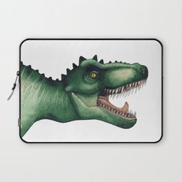 Realistic watercolor dinosaur Laptop Sleeve