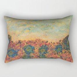 Flowers of Provence Rectangular Pillow