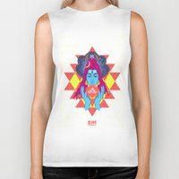 om Biker Tanks featuring Om by RJ Artworks