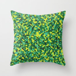 Camo 9 Summer Shandy Throw Pillow
