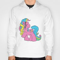 my little pony Hoodies featuring My Little Bowie Pony by Melina Espinoza