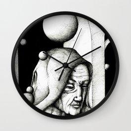 Monk Wall Clock