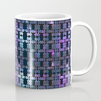 shining Mugs featuring Shining Shapes by Nahal
