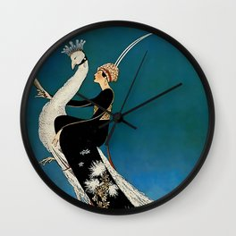 George Wolfe Plank Art Deco Magazine Cover #7 Wall Clock