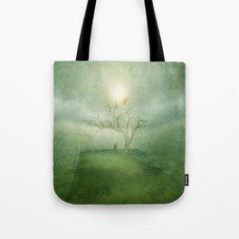 Greenery Sunrise Tote Bag