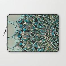 Bloom Mandala in Ocean Laptop Sleeve