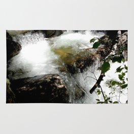 Cascades on Fall Creek in the Weminuche Wilderness, No. 2 of 2 Rug