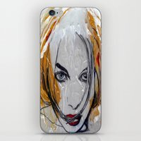 blondie iPhone & iPod Skins featuring Blondie by Capracotta Art