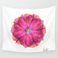 Athena-Flower  Wall Tapestry