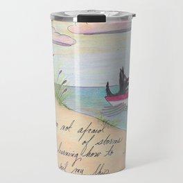 Sailing Scottie Travel Mug