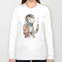 spaceman Long Sleeve T-shirts featuring spaceman by bri.buckley