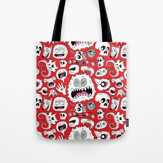Another Monster Pattern Tote Bag