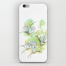 Crocus iPhone & iPod Skin