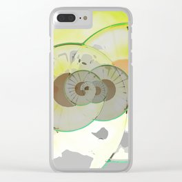 Whimsical Weirdness Clear iPhone Case